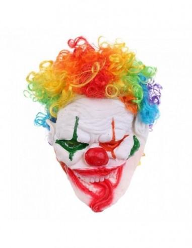 Máscara Látex Payaso Diabólico  Antifaces y Máscaras
