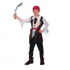 Disfraz Pirata Bucanero Niño  Cotillón y Disfraces Halloween
