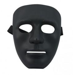 Máscara Hombre Negra  Antifaces y Máscaras