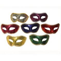 Máscara Veneciana Lentejuelas  Antifaces y Máscaras
