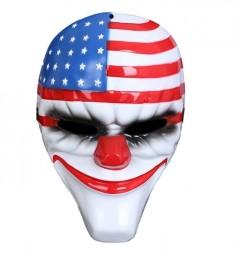 Máscara Payday Payaso Dallas  Antifaces y Máscaras