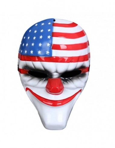 Máscara Payday Payaso Dallas  Antifaces y Máscaras