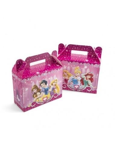 Maleta Sorpresa Princesas Disney x 6  Cotillón Princesas de Disney