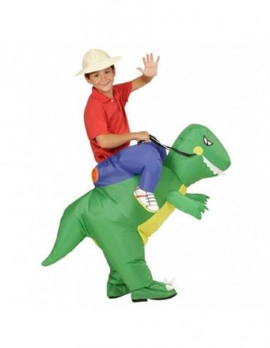 Disfraz Dinosaurio Inflable Niño  Disfraces Niñas y Niños
