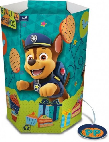 Piñata Hexagonal Paw Patrol  Cotillón Paw Patrol