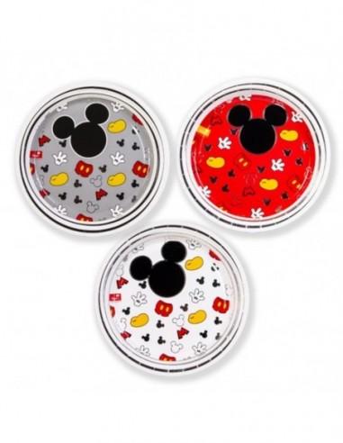 Platos Mickey Mouse Clásico x 6  Cotillón Mickey Mouse