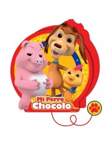 Piñata Perro Chocolo  Cotillón Perro Chocolo