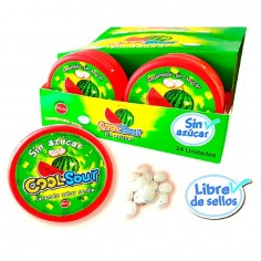 Dulce Candy Sour Sandía 16 grs x 24  Dulces para Sorpresas