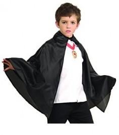 Capa Negra Niño Halloween  Disfraces Niñas y Niños