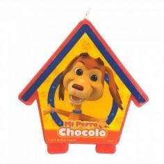 Vela Perro Chocolo  Cotillón Perro Chocolo