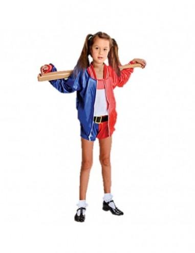 Disfraz Arlequina Harley Quinn NIÑA  Disfraces Niñas y Niños