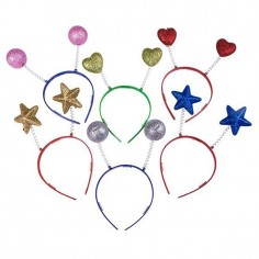 Cintillo Glitter Formas  Accesorios Cotillón
