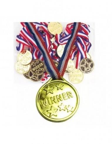 Medalla Sorpresa x 6  Sorpresas