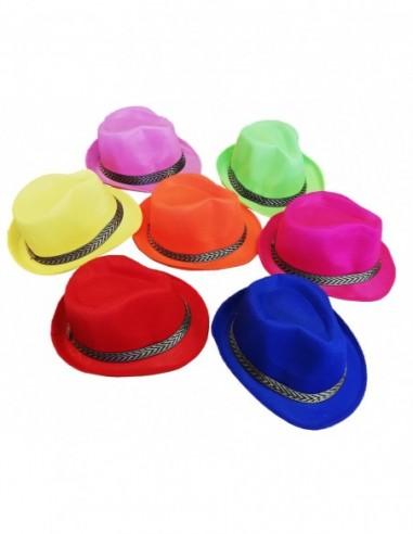 Gorro Gangster Playero Colores  Cotillón Playero