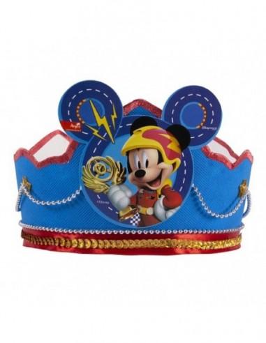 Corona Festejado Mickey Mouse  Cotillón Mickey Mouse