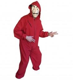 Disfraz La Casa de Papel Con Máscara ADULTO  Cotillón y Disfraces Halloween
