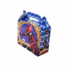 Maletín Sorpresa Spiderman x 6  Cotillón Spidermann
