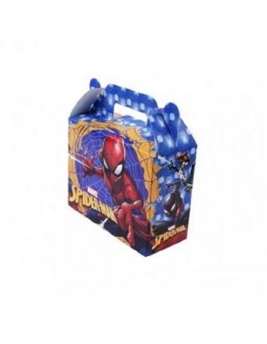 Maletín Sorpresa Spiderman x 6  Cotillón Spidermann