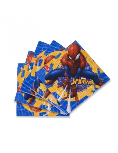 Servilleta Spiderman x 12  Cotillón Spidermann