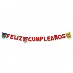 Guirnalda Feliz Cumpleaños Paw Patrol  Cotillón Paw Patrol