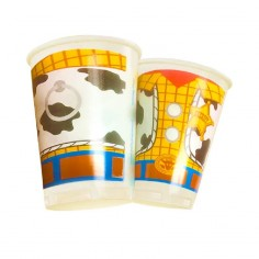 Vaso Toy Story x 6  Cotillón Toy Story