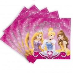 Servilleta Princesas Disney x 12  Cotillón Princesas de Disney