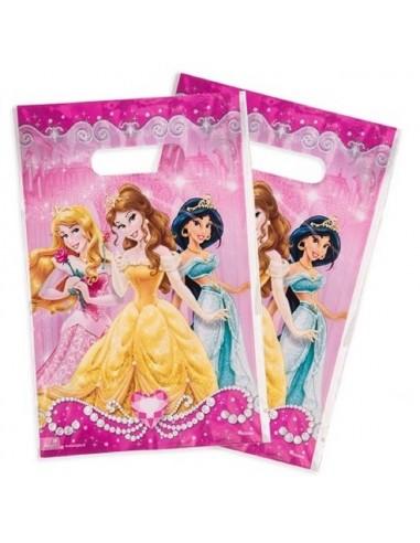Bolsa Dulces Princesas Disney x 6  Cotillón Princesas de Disney