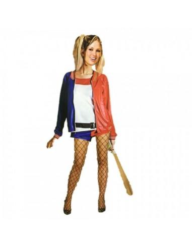 Disfraz Arlequina Harley Quinn MUJER  Disfraces Adultos
