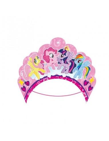 Corona Invitadas My Little Pony x 6  Cotillón My Little Pony