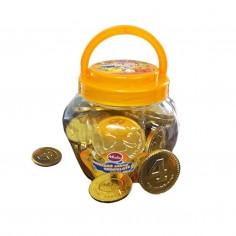 Moneda Chocolate Sorpresa x 50  Dulces para Sorpresas