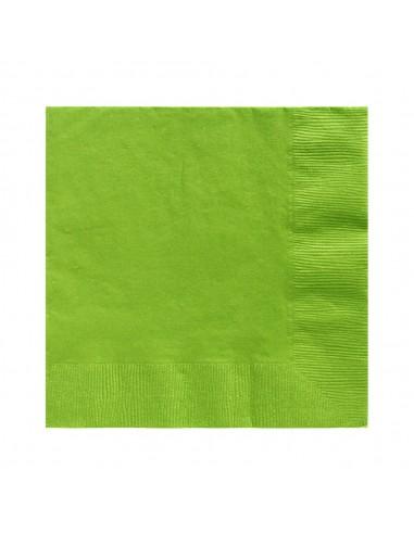 Servilleta Desechable Colores x 20  Líneas Cumpleaños