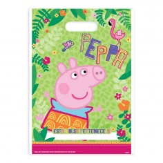 Bolsa Dulces Peppa Pig x 6  Cotillón Peppa Pig