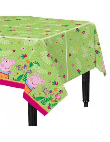Mantel Peppa Pig  Cotillón Peppa Pig