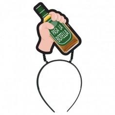 Cintillo Mensaje Botella  Accesorios Cotillón