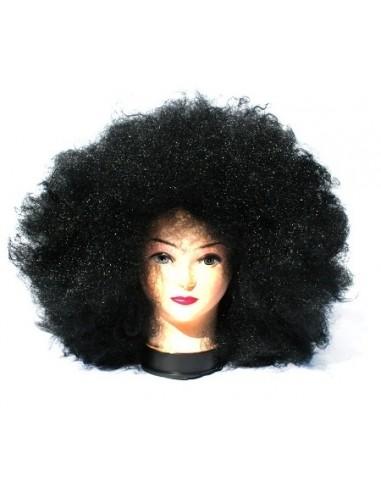 Peluca Afro Negra Gigante  Pelucas
