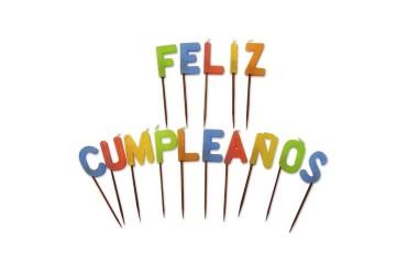 Velas Feliz Cumpleaños  Velas