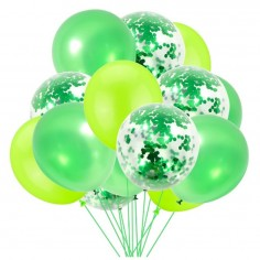 Globo Combi Tonos Verdes  Globos Diseños