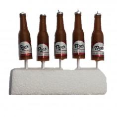 Vela Cerveza Beer x 5  Velas