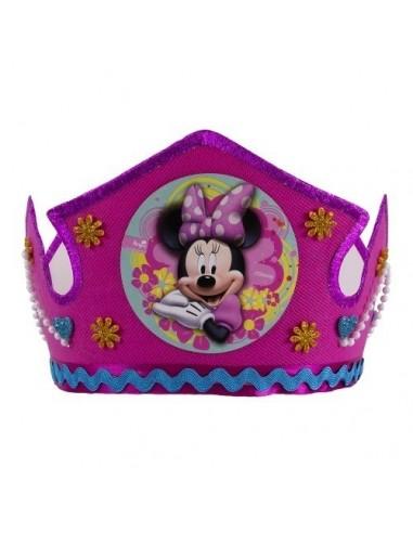 Corona Festejada Minnie Mouse  Cotillón Minnie Mouse