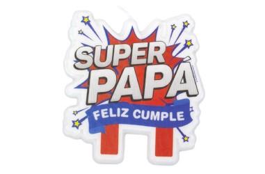Vela Súper Papá  Velas