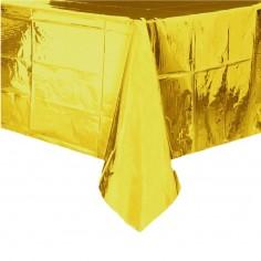 Mantel Cromo Dorado  Línea Metalizado
