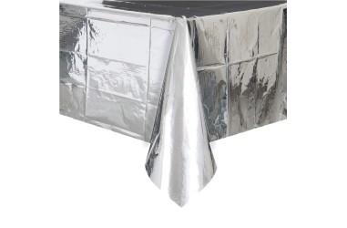 Mantel Cromo Plateado  Línea Metalizado