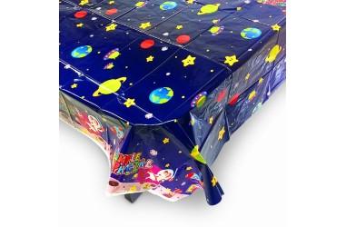 Mantel Cumpleaños Espacial Cotillón Activarte Cotillón Espacial