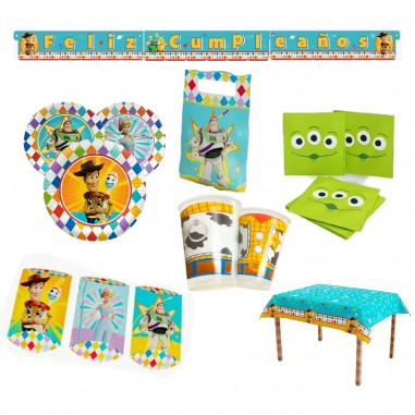 Pack Cumpleaños Toy Story x 36  Cotillón Toy Story