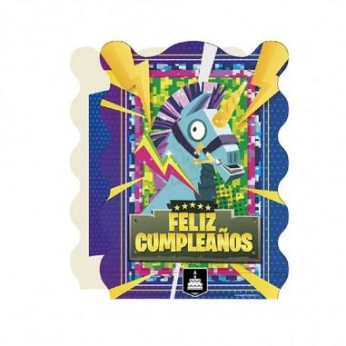 Piñata Fortnite Plana  Cotillón Fortnite