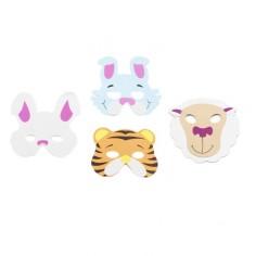 Máscara Animalitos Cotillón Activarte Cotillón Animalitos