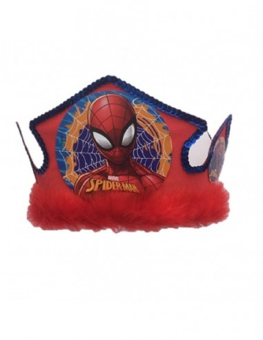 Gorro Festejado Spiderman  Cotillón Spidermann