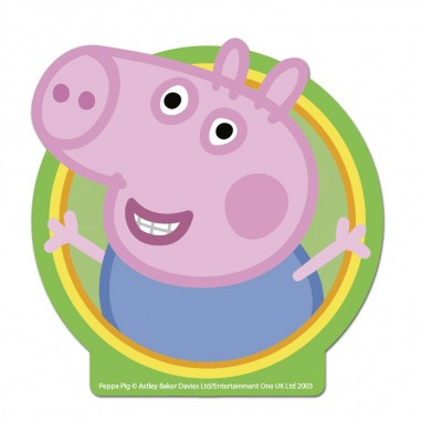 Vela Cumpleaños George Pig  Cotillón Peppa Pig