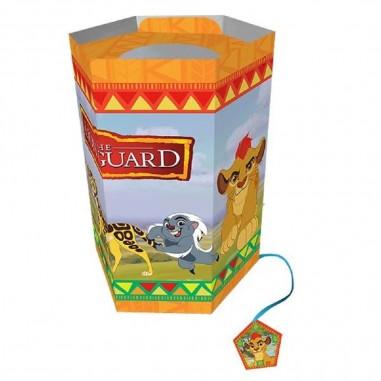 Piñata Hexagonal La Guardia del León  Cotillón Animalitos
