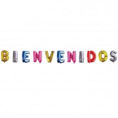 Globo Letras Bienvenidos  Globos Diseños
